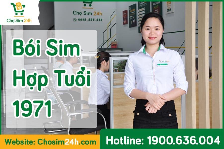 TOP 4 Cách Bói Sim Hợp Tuổi 1971 Chuẩn Phong Thủy 99,9%