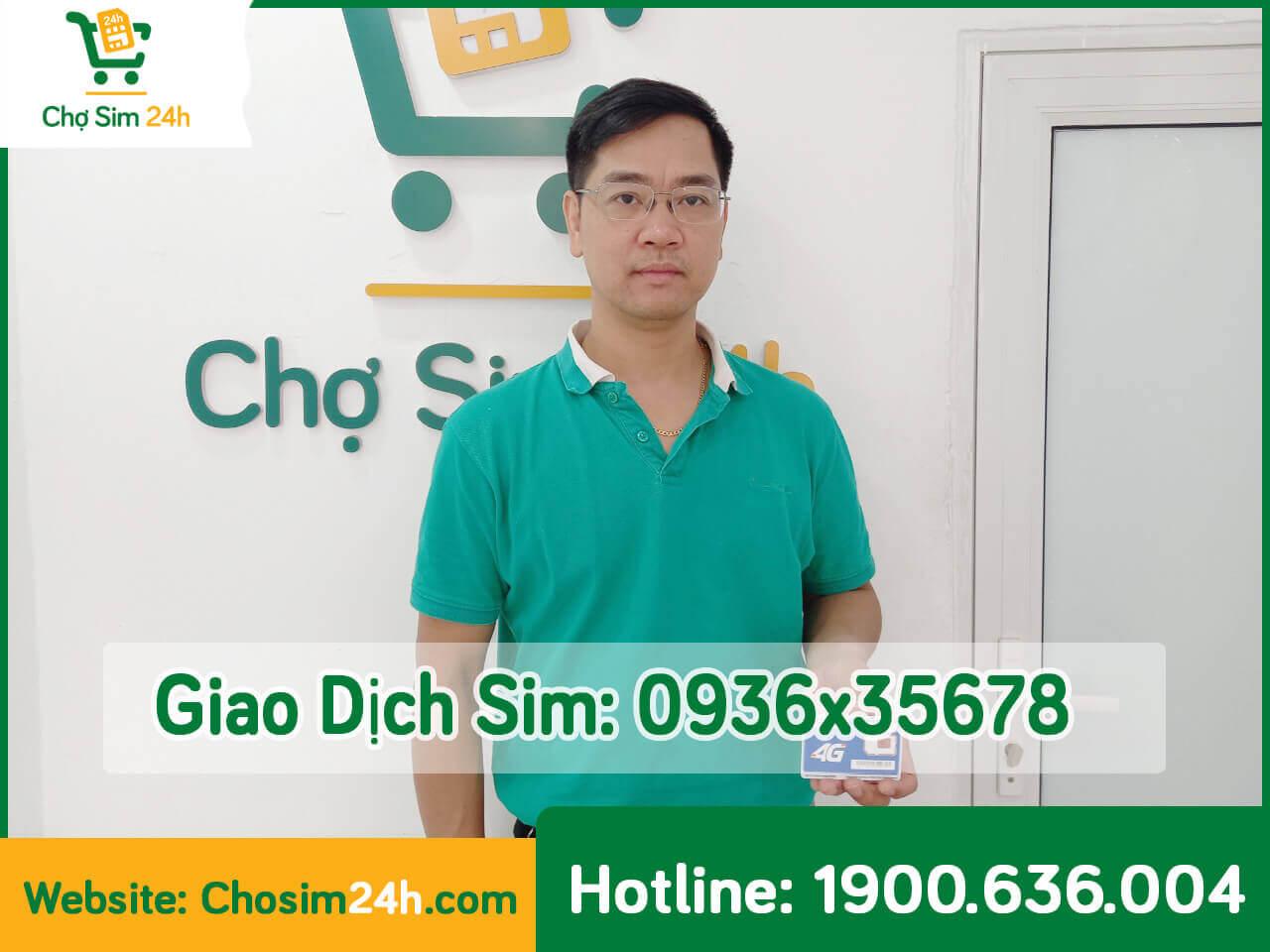 Giao dịch hot cùng sim sảnh tiến 0936x35678 mạng mobifone
