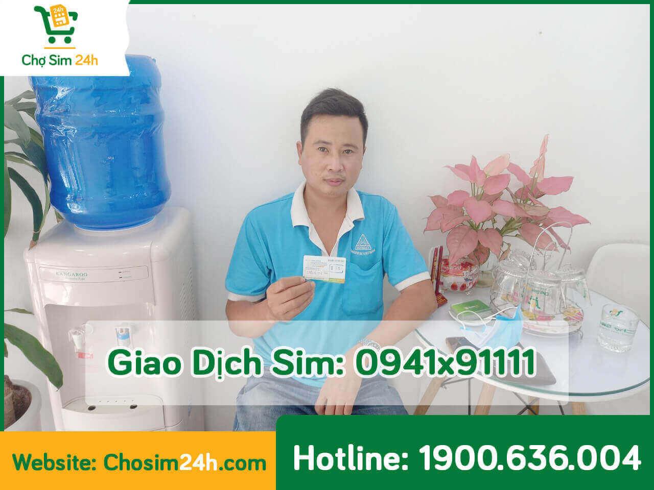 Giao dịch sim 0941x91111 ý nghĩa nhân ngày phụ nữ  Việt Nam