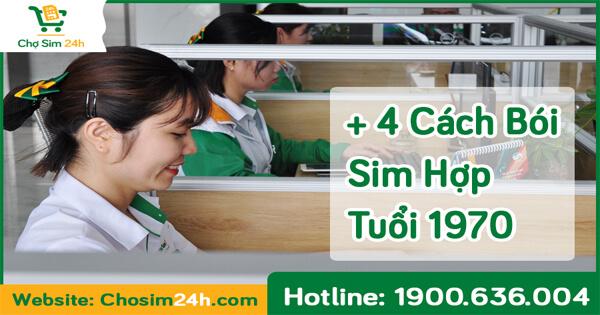 Tư Vấn 4 Cách Bói Sim Hợp Tuổi 1970 Chuẩn Phong Thủy 99,9%